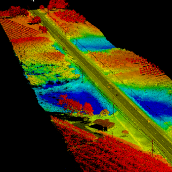 Drone Lidar for Engineering drawing