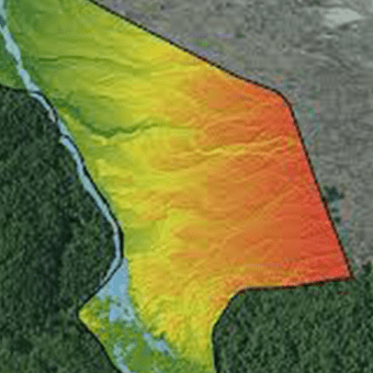Drone Lidar for Watershed mapping